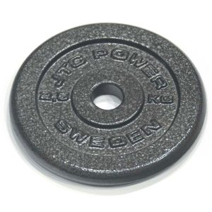 Viktskiva metall, JTC Power, 25 mm, 2 x 2,5 kg | SportGymButiken.se