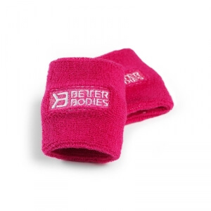 Kolla in BB Wristband, hot pink, Better Bodies hos SportGymButiken.se