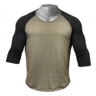 Broad Street 3/4 Sleeve, wash green/black, GASP