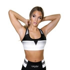 Grand Slam Sports Bra, black/white, Gavelo