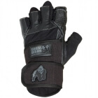 Dallas Wrist Wrap Gloves, black, Gorilla Wear