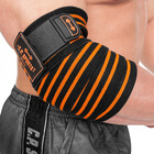 Elbow Wraps Pro, black/orange, C.P. Sports