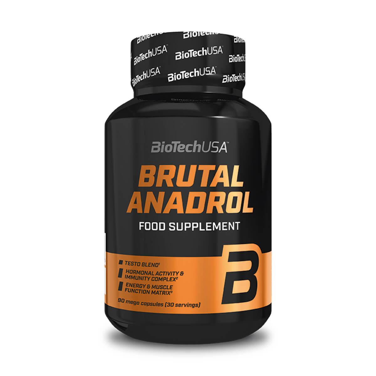 Köp Brutal Anadrol, 90 kapslar, BioTech online hos
